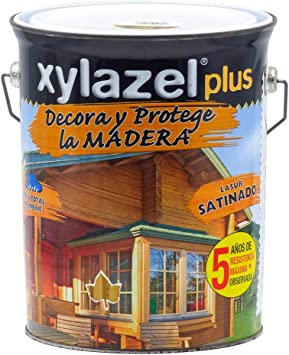Xylazel - Decoprotector satinado 5l roble claro: Amazon.es ...