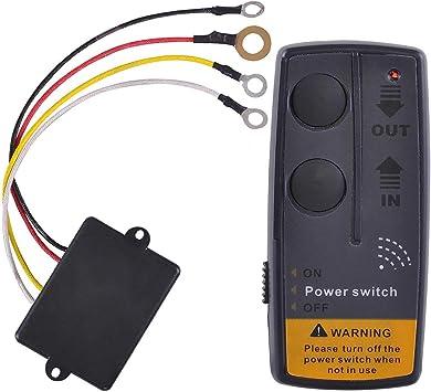 Wireless Winch Remote Control,2 Function LODAR 92100-8