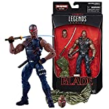 blade marvel legends - Marvel Legends 2017 Man-Thing Series 6 Inch Tall Figure - BLADE with Alternative Head, Katana Sword and Man-Thing's Right Leg