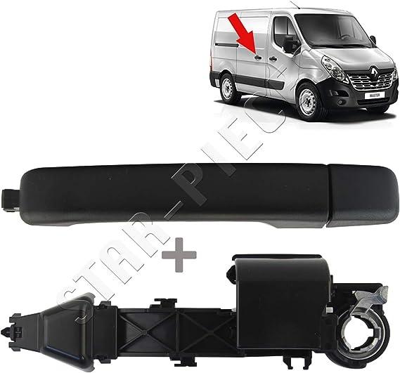 Maneta y mecanismo interior de puerta delantera izquierda conductor o puerta lateral derecha para Master III, Movano B, NV400: Amazon.es: Coche y moto