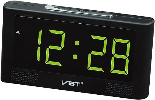 Homyl LED Reloj Digital de Pared Escriotorio Mesa con 2inchs ...