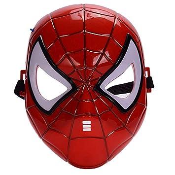 morningsilkwig máscara Spiderman cómics Traje superhéroe máscara ...