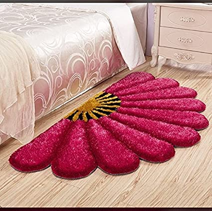 Jai Durga Home Furnishing Sunflower Bedside Runner - (24 x 48 inch)