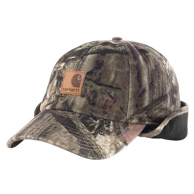 398c01fb4338f Carhartt Men s Camo Ear Flap Cap