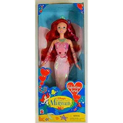 Disney Valentine Ariel Little Mermaid doll 1997: Toys & Games