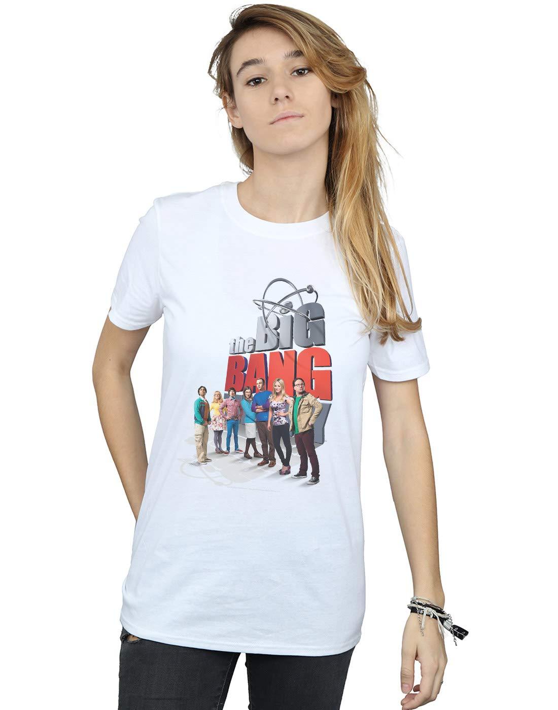 The Big Bang Theory Big Poster Friend T Shirt 1650