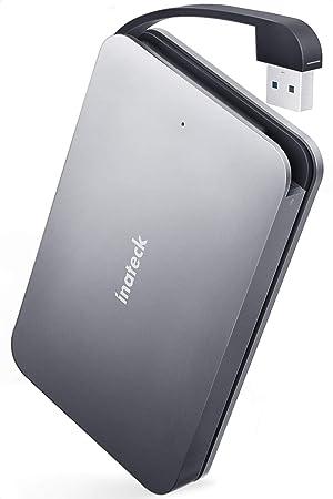 Inateck Carcasa Disco Duro de USB 3.0 a SATA en Aluminio con Cable ...