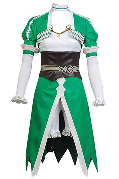 221da4a42df Traje de cosplay para adulto talla europea de Daiendi Sword Art Online  Leafa Suguha Kirigaya: Amazon.es: Ropa y accesorios