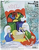 Nativity Stocking Felt Applique Kit - 16'' Long