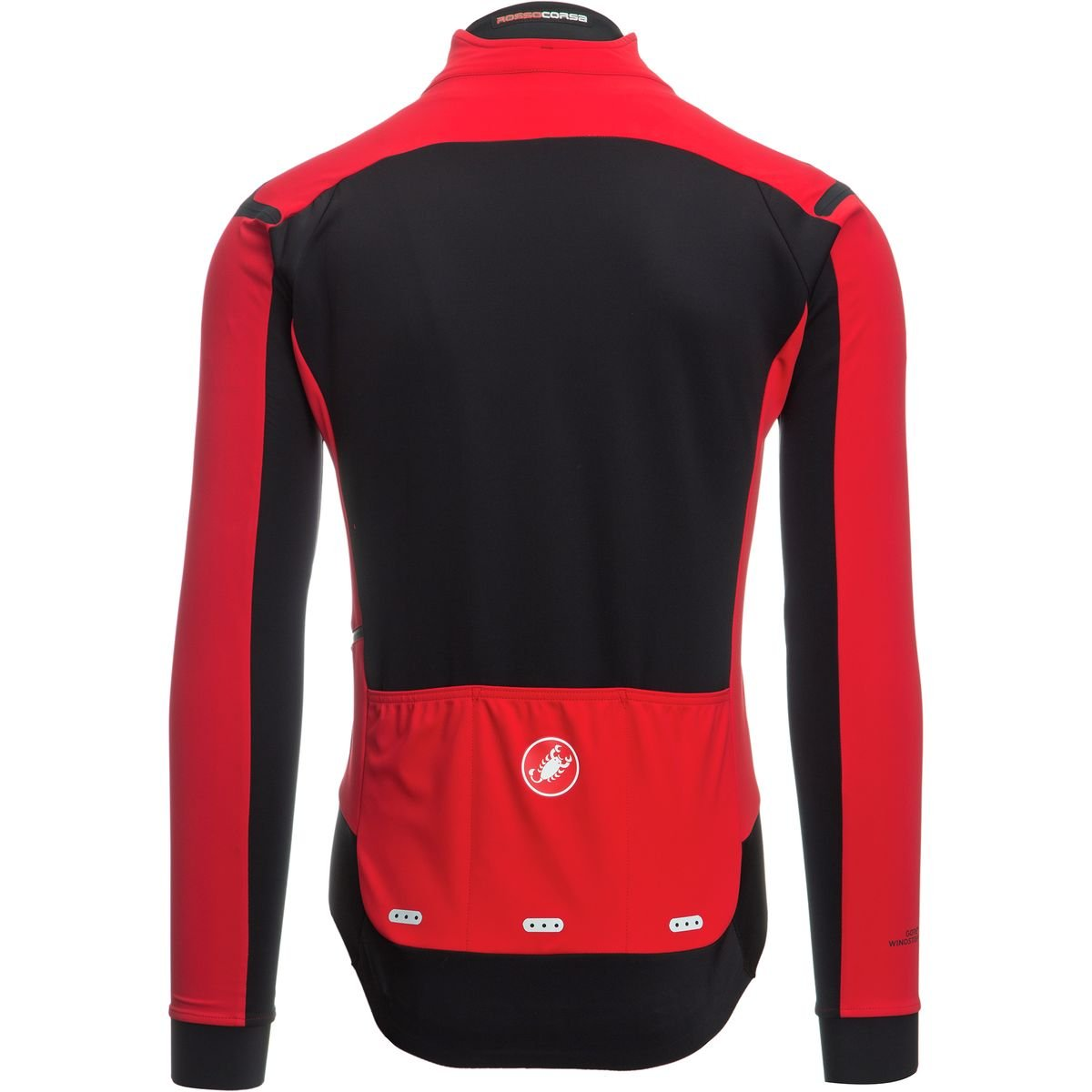 cde2bf6f3 Amazon.com   Castelli Alpha ROS Limited Edition Jersey - Men s Red Black