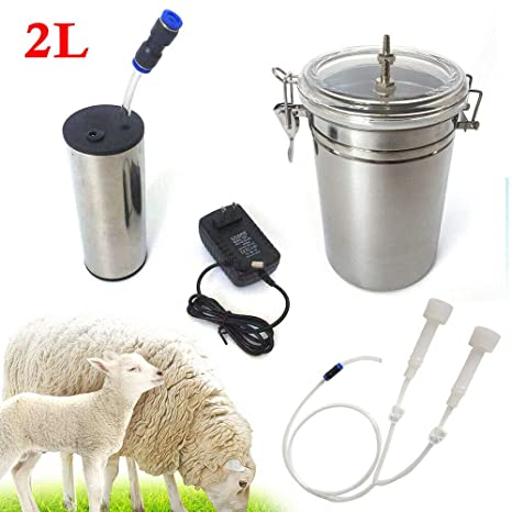 Portable Plastic Electric Milking Machine Vacuum Pump For Farm Cow Sheep Goat