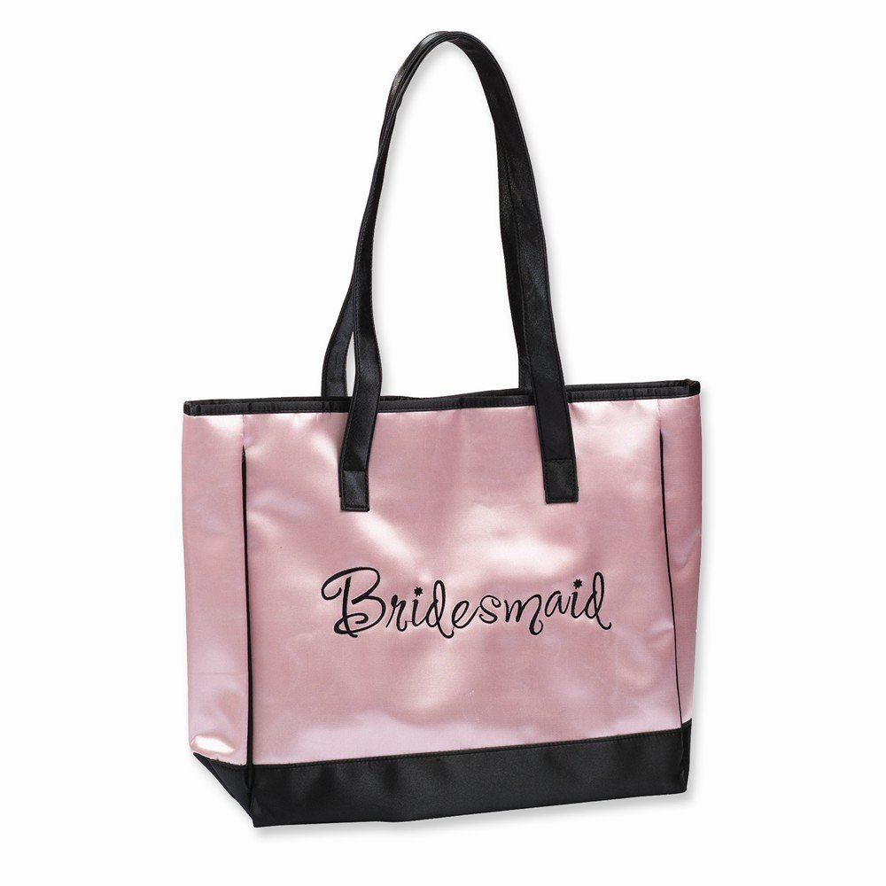 Jewelry Best Seller Bridesmaid Pink Satin Tote