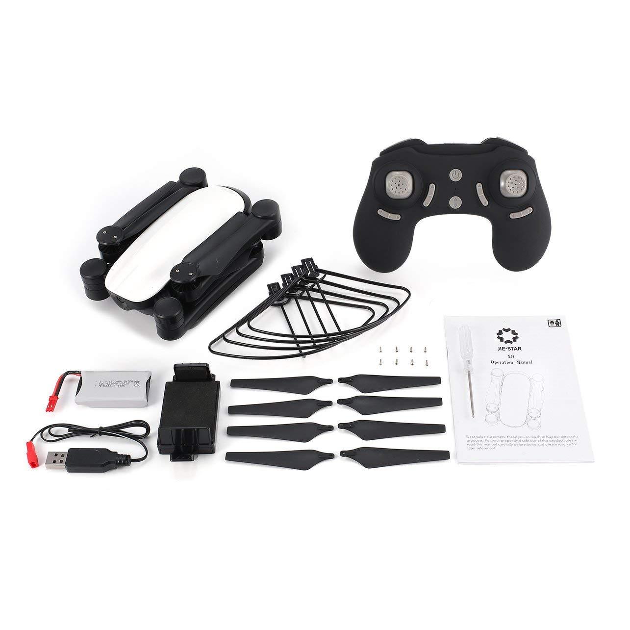 Amazon.com: WOSOSYEYO X9 RC Drone 2.4G FPV Foldable Quadcopter 0.3MP WiFi Camera Altitude Hold,White: Toys & Games