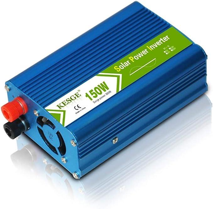 150W inversor de onda sinusoidal pura, DC 12V a 220V AC ...