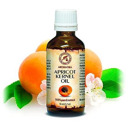 Aceite de Semilla de Albaricoque 50ml - Prunus Armeniaca - Italia - Prensado en Frío -