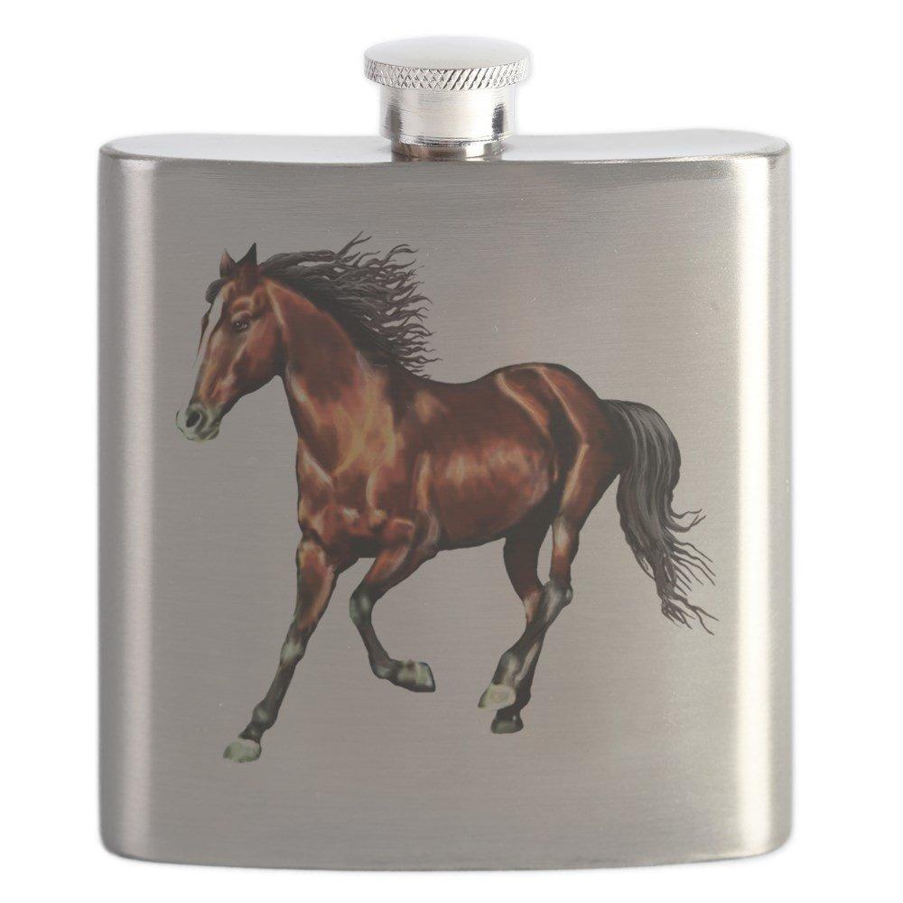 素晴らしい CafePress – Bay Horse , Dreamer – ステンレススチールフラスコ – Bay、6オンスDrinkingフラスコ Dreamer B01IUGGYQY, YouShowShop:38e83261 --- tadevakaryam.com