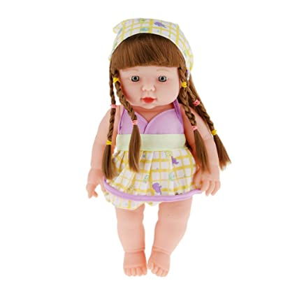 9f0f9c49789 Buy Generic Realistic Silicone Baby Doll Vinyl Real Life Lifelike Baby Girl  Online at Low Prices in India - Amazon.in