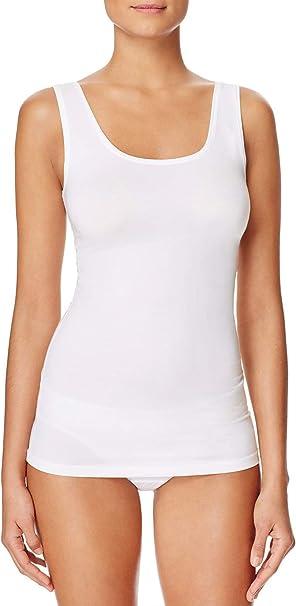 H HIAMIGOS Camiseta de Tirantes de Algodón para Mujer con Sujetador Incorporado, Pack de 1/3: Amazon.es: Ropa y accesorios