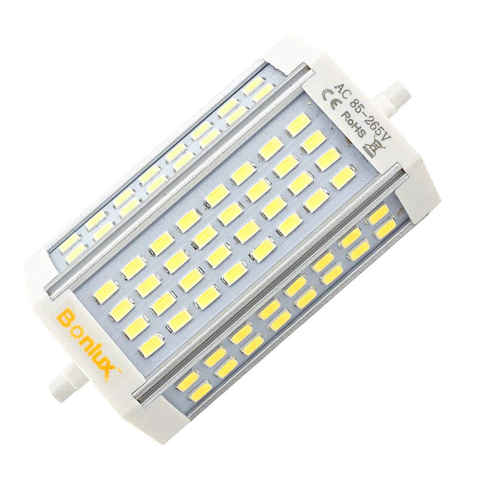 Bonlux R7S LED Dimmable Bulb, 30W Warm White Double Ended J Type J118 LED Light Replace 200W Halogen R7S Floodlight (30W 118MM, Warm White) Lusta LED Co. Ltd