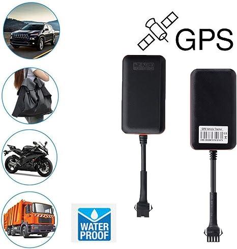 Muium 🌺 🌺Localizador GPS para Coche,GPS a Prueba de Agua Tracker TK108 Acc Encendido y Apagado Informa,App/Sitio Web posición en Tiempo Real Antirrobo GPS Localizados para Vehículos 🌺 🌺: Amazon.es: Deportes y