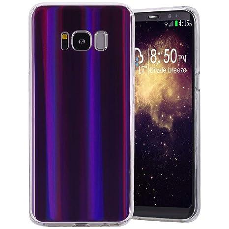 Carcasa Galaxy S8 silicona, única aurores boréales coloré ...
