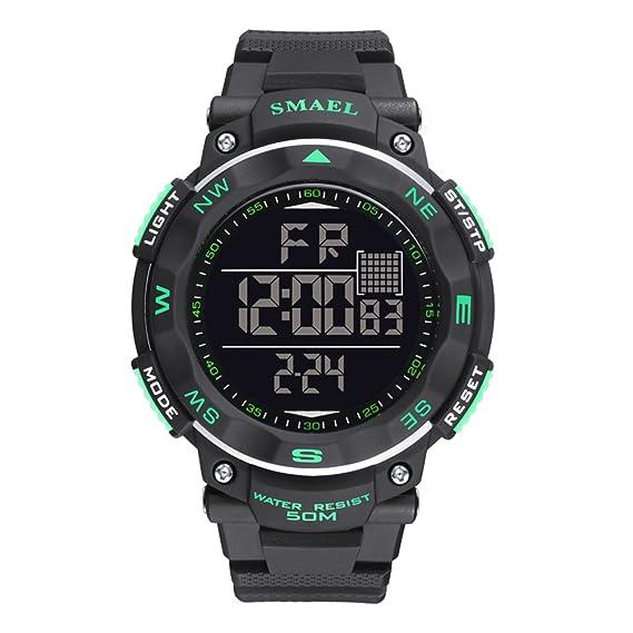 Temporizador de reloj digital automático Cool Boys Watch Digital para hombres jóvenes adolescentes: Amazon.es: Relojes