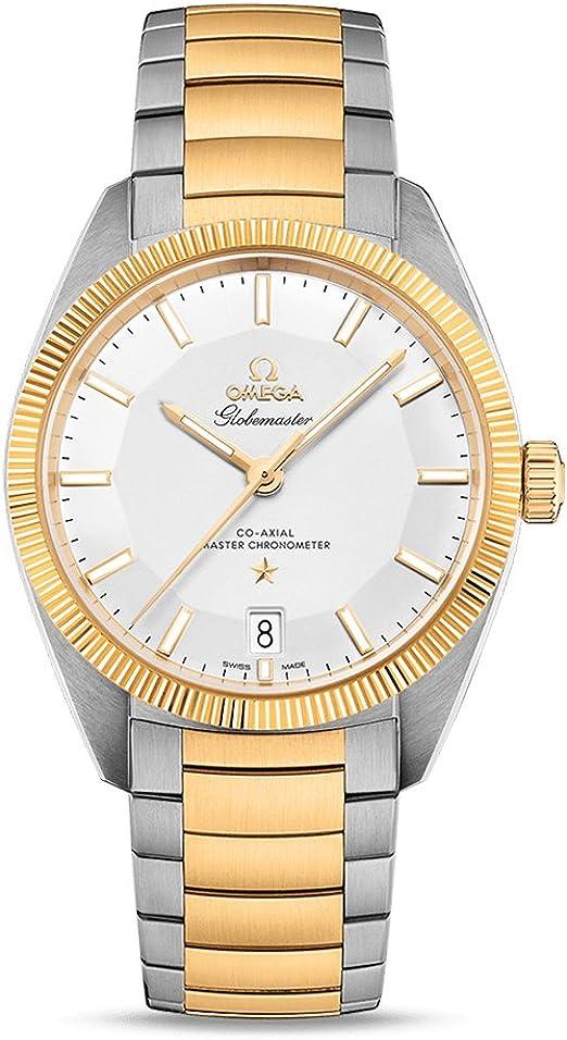 Reloj Omega Constellation Globemaster Reloj automático para hombre de acero y oro amarillo de 18 quilates 130.20.39.21.02.001