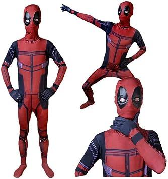 TOYSSKYR Deadpool Avengers 2 Cosplay Disfraz Impresión Digital 3D ...