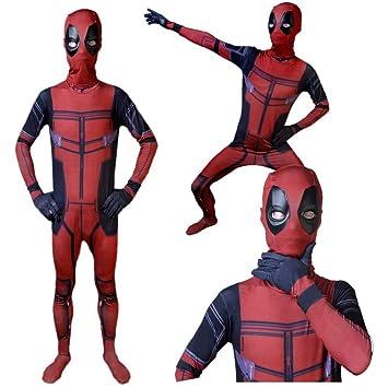 GIFT ZHIZHUXIA Deadpool Avengers 2 Cosplay Disfraz Impresión ...