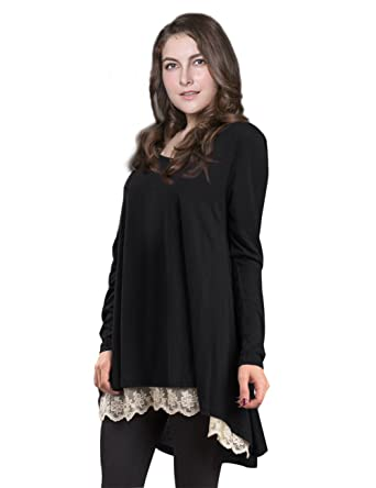 Plus Size Casual Tunics