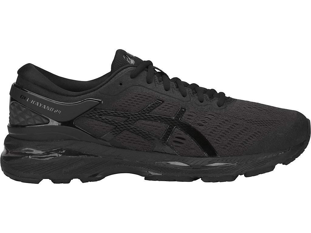 ASICS Men's Gel-Kayano 24 Running Shoes, 10M, Carbon/Carbon/Black