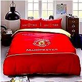 Amazon.com: Manchester United F.C. – Juego de cama (