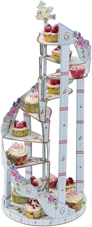 Fiesta del té Vintage Cupcake soporte para Muffins cupcakes ...