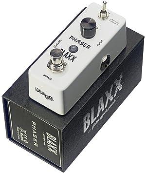Blaxx Phaser Guitarra Eléctrica Pedal De Efecto: Amazon.es: Instrumentos musicales