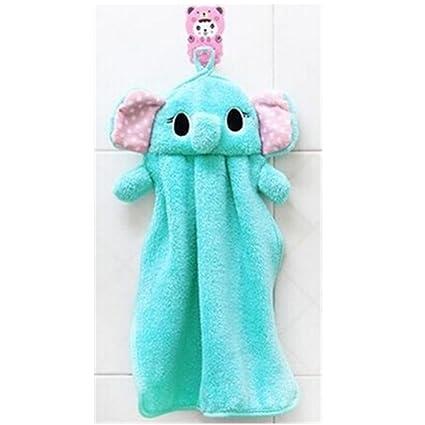 Kaka (TM) multifuncional nueva toalla de dibujos animados Cute Fashion para colgar gamuza de