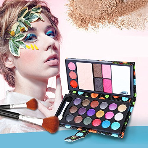 CASA SHOP Small Makeup Eyeshadow Palette 26 Colors Fashion Eye Shadow Make Up