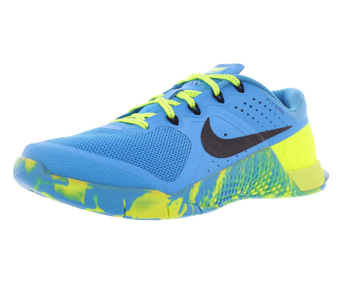 Nike Womens Metcon 2 AMP Running Trainers 843972 Sneakers Shoes (US 6, Blue Glow Black Volt 400)