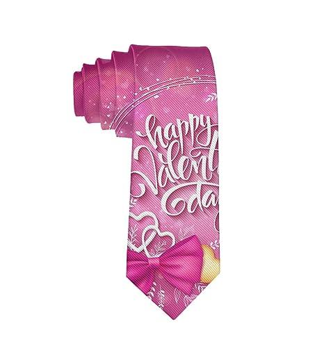 MrDecor - Corbata para Hombre, diseño con Texto en inglés Happy ...