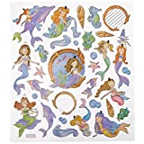 Multi-Colored Stickers-Mystical Mermaids