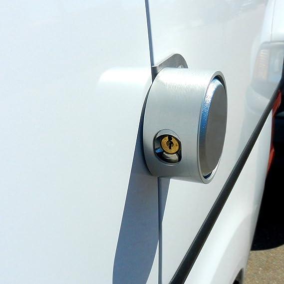 Slicklocks - Juego Completo de Puertas Laterales con bisagras para Ford (tamaño Completo, con 2 cerraduras): Amazon.es: Electrónica