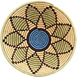 Fair Trade Rwanda African Sisal Bowl 11-12'' Across, 42256