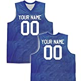Fadeaway Reversible Custom Basketball Jersey womens small in Royal Blue & White