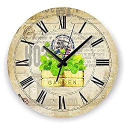 Living Room Decoration Wall Clock Mute Wall Clock Home Decor Large Wall Clock Modern Design Shabby Chic Orologio Parete style 12 12 inch
