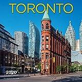 Toronto 2020 12 x 12 Inch Monthly Square Wall Calendar, Canadian Regional Travel Canada