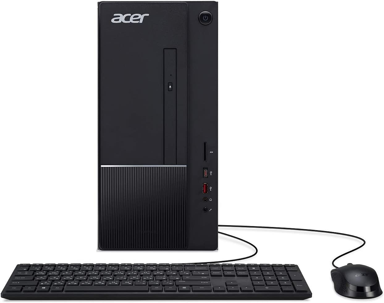 Acer Aspire TC-865-UR14 Desktop, 9th Gen Intel Core i5-9400, 8GB DDR4, 1TB 7200RPM HDD, 8X DVD, 802.11ac WiFi, USB 3.1 Type C, Windows 10 Home (Renewed)
