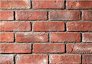 Manufactured brick veneer wall siding country brick for 1 2 inch brick veneer