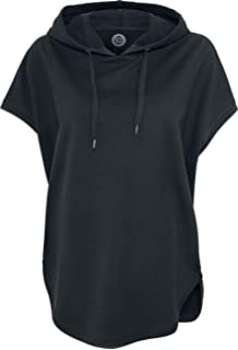 Urban Classics Ladies Sleeveless Terry Hoody Sweat Shirt