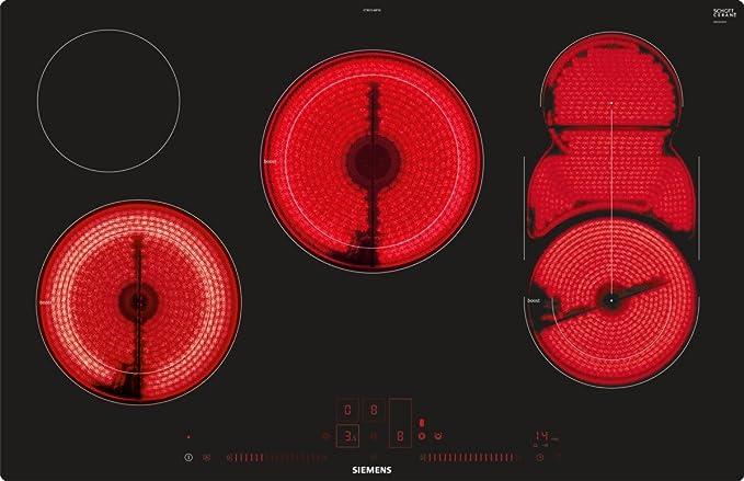 Siemens et801lmp1d IQ500 hobs eléctrico/vitrocerámica/vidrio ...