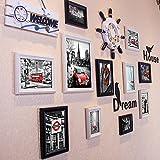 Photo Wall, European Photo Wall Decoration, Photo Wall Wall Frame Wall, Living Room Shop Children's Room Creative Frame Wall Wall Photo Wall ( Color : 4# )