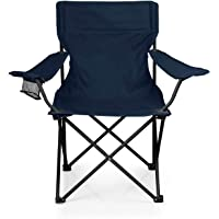 Supreme Mall Stainless Steel Folding Camp Chair with Matching Tote Bag